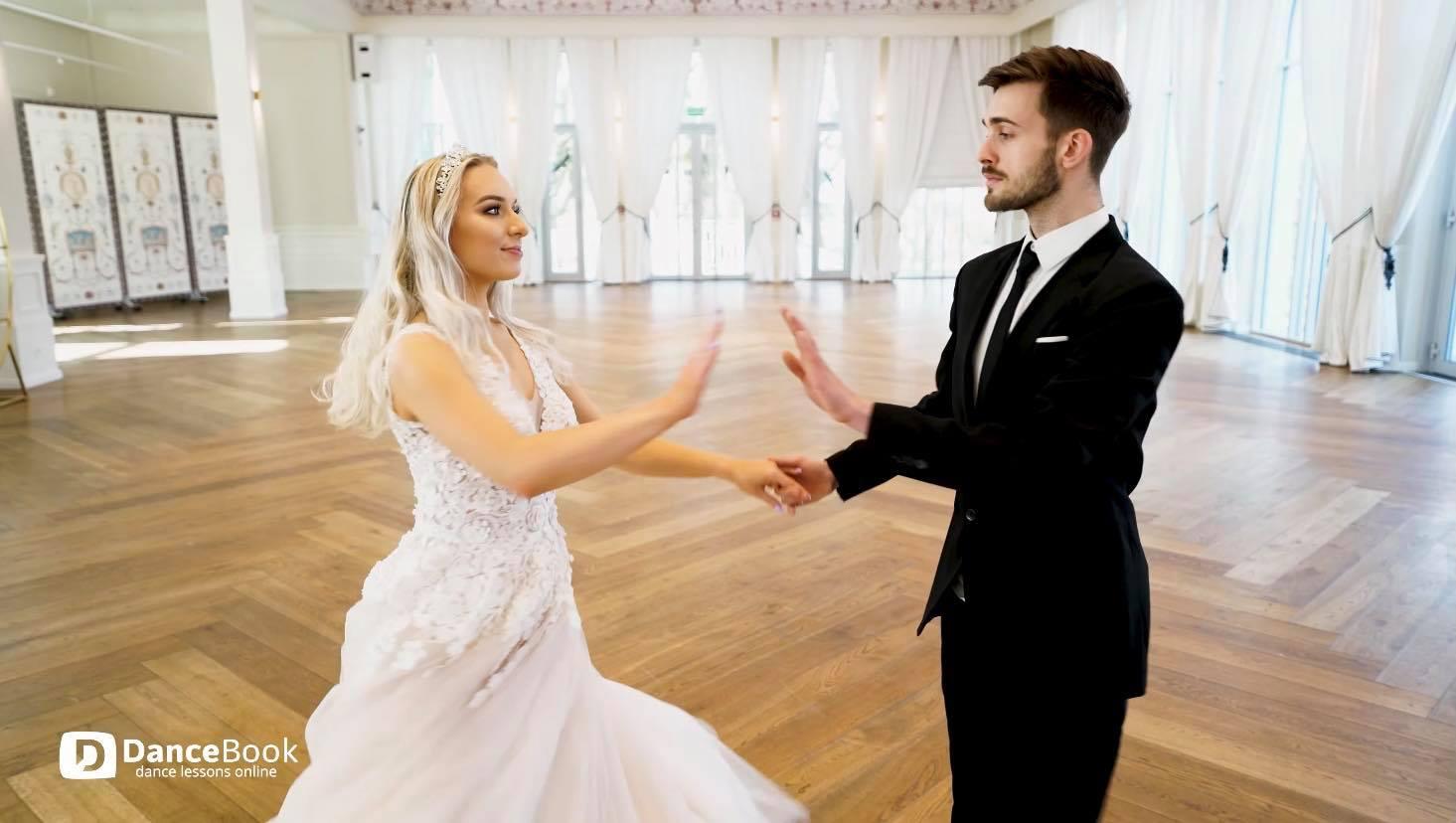Nauka Pierwszego Tańca - Kurs Pierwszego Tańca - Krok Podstawowy Walca