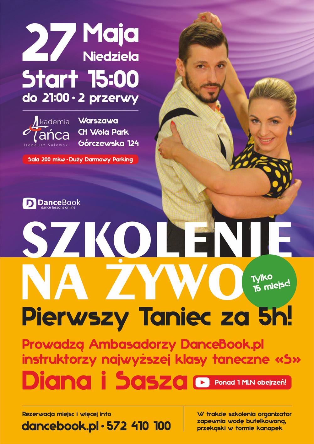 Szkolenie Pierwszego Tańca w Warszawie - Dancebook.pl