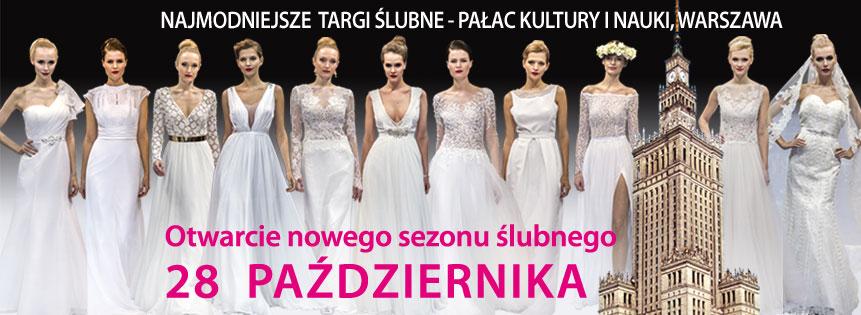Zapraszamy na XVII TARGI Polska Gala Ślubna 28.10.2018! PKiN Warszawa